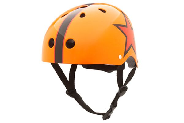 Kinderhelm Orange / Stern Small