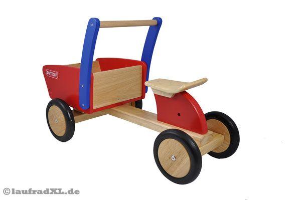 home rutschauto mit transportkiste holz. Black Bedroom Furniture Sets. Home Design Ideas