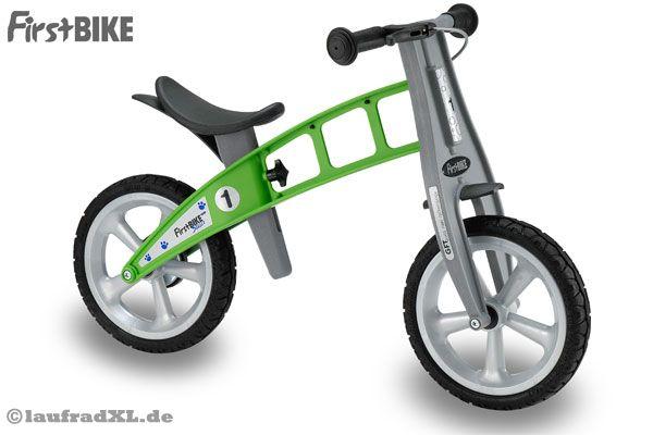 firstbike basic green mit pu reifen und handbremse. Black Bedroom Furniture Sets. Home Design Ideas