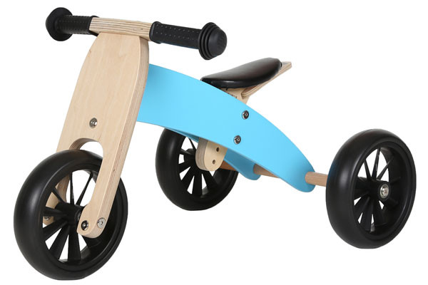 Blaues Smart Bike 4 in 1 von Bandits & Angels.