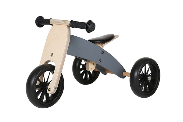 Graues Smart Bike 4 in 1 von Bandits & Angels.