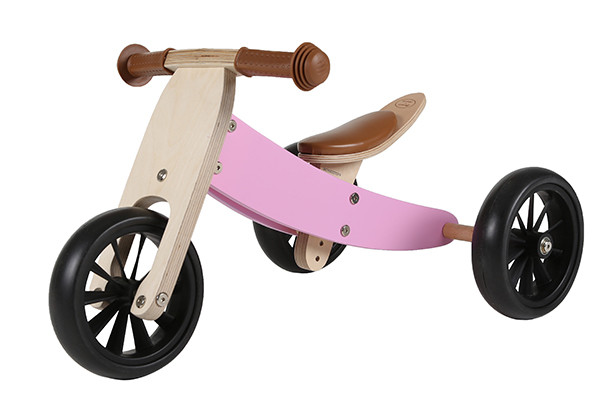 Smart bike 4in1 retro pink